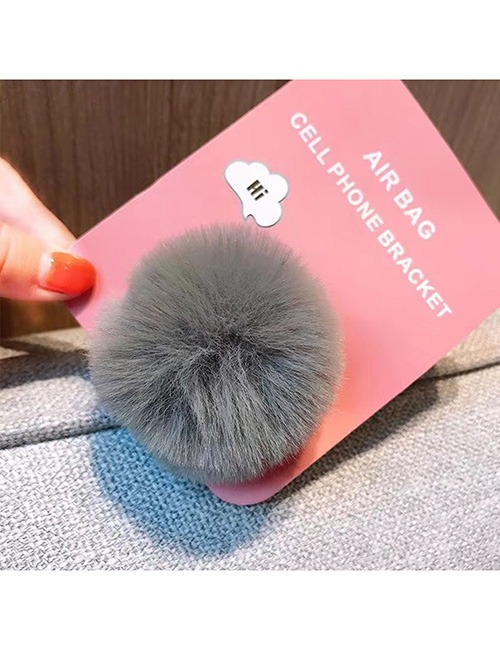 Fun Phone Hand Holder, Soft, Fuzzy, Expanding Stand 5
