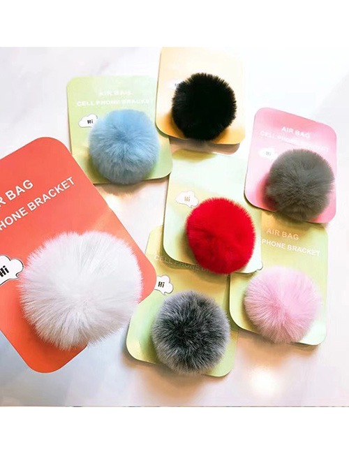 Fun Phone Hand Holder, Soft, Fuzzy, Expanding Stand 6