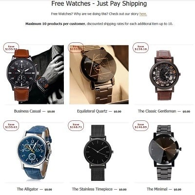 400sq Watch Just Pay Shipping.